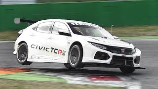New Honda Civic Type-R Wtcr 2018 Testing On Track! Accelerations, Fly Bys & Sound