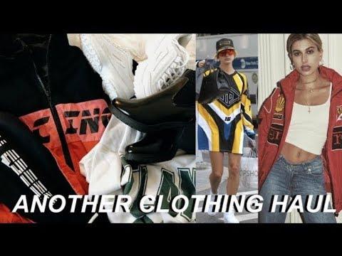 trendy clothing haul for FALL   Hailey Baldwin inspired