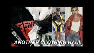 trendy clothing haul for FALL | Hailey Baldwin inspired