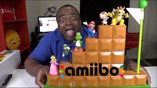 AMIIBO END LEVEL DISPLAY UNBOXING & SETUP!