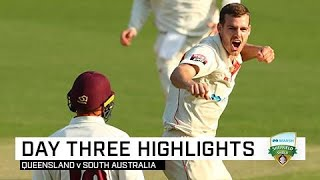 Late collapse gives SA a sniff in Brisbane | Marsh Sheffield Shield 2019-20