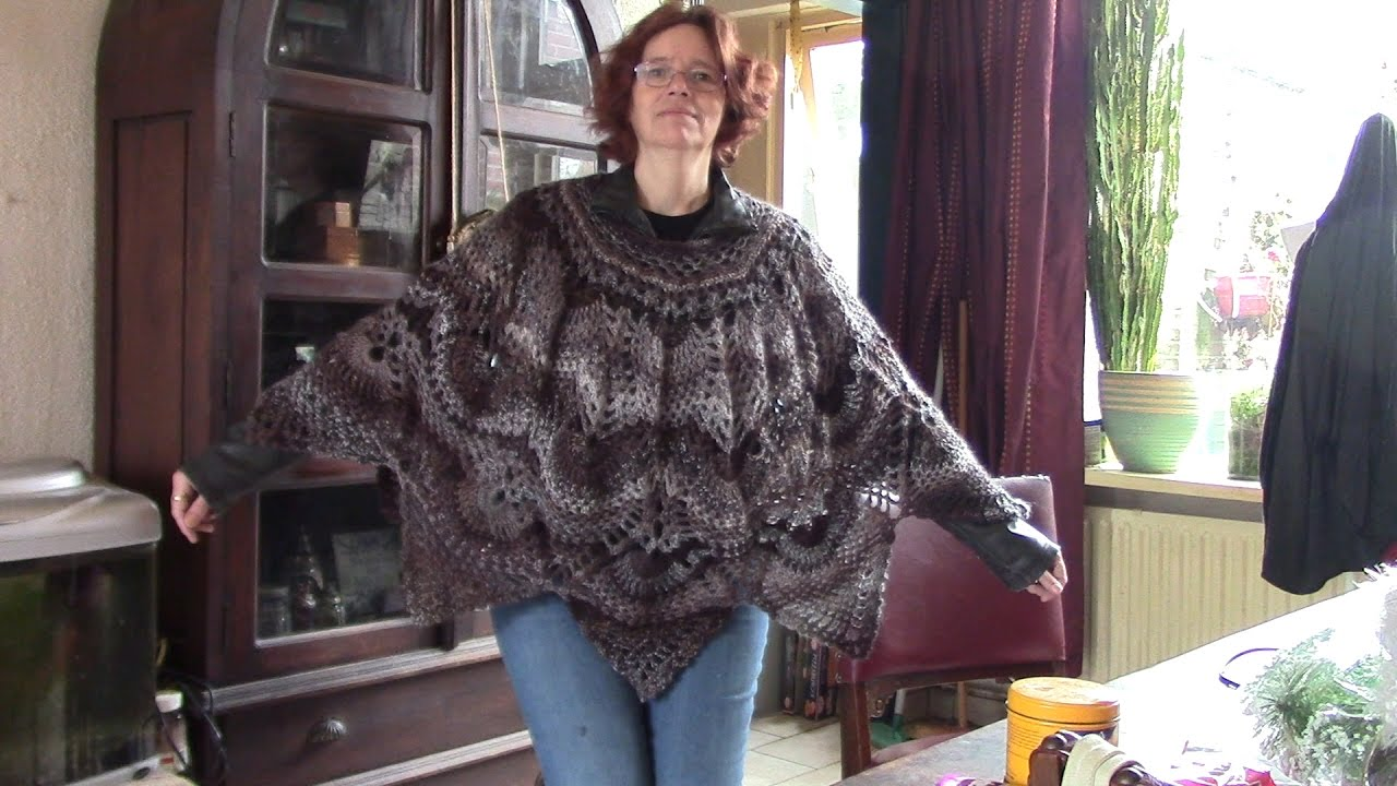 Haken Tutorial 271 Ananas Poncho Youtube