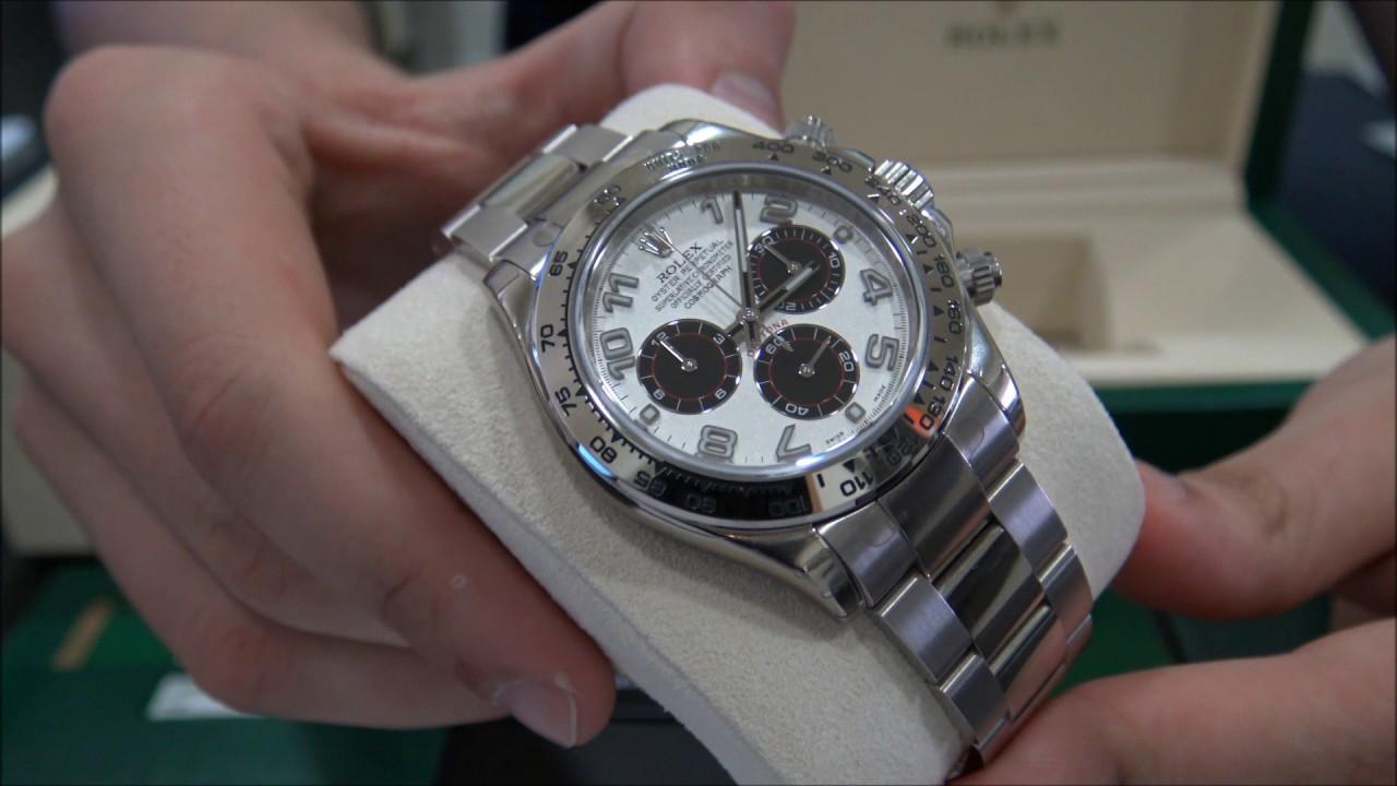 Rolex Cosmograph Daytona White Gold 116509 Panda Dial