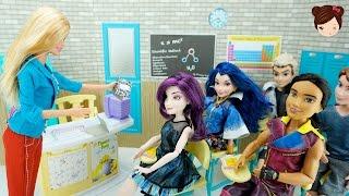 Aula Escolar Para Muñecas -  Barbie Descendientes Monster High EAH MLP