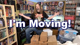 * SURPRISE * I'm MOVING! - GOODBYE to the old GAME ROOM!