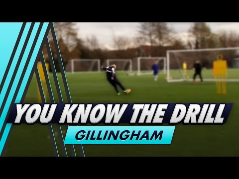 Multi-Technique Finishing Challenge   You Know The Drill - Gillingham FC with Bradley Dack
