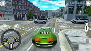 City Car Driving and Parking Simulator #6 The Fastest Car - Android Gameplay FHD