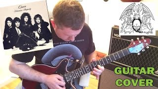 Queen - Bohemian Rhapsody - Guitar Solo Cover (backing track download)