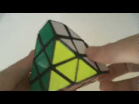 Half-Truncated Cube - Homemade Puzzle