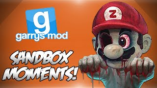 Garrys Mod Sandbox! - ZOMBIE APOCALYPSE! (Funny Moments)