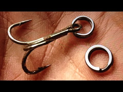 How To Make Fishing SPLIT RING  - Diy - Fishing Tips - Làm Vòng Tách Câu Cá