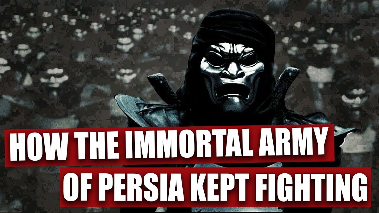 Here's how the Immortal Army of Persia kept fighting in ...