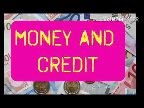 Money and credit class 10 Economics lesson - 3(Summary)