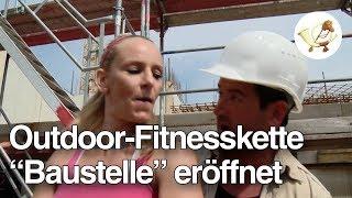 """Neue Outdoor-Fitnesskette """"Baustelle"""" eröffnet in 300 deutschen Städten"""
