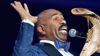 Steve Harvey Saves Child From Animal Attack