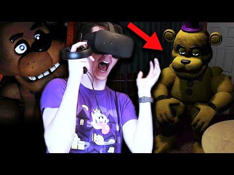 BUILDING FREDBEAR AND EXPLORING THE PIZZERIA! || Five Nights at Freddy's VR thumbnail