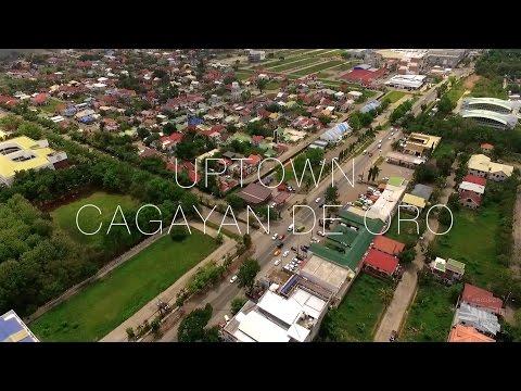 Uptown Cagayan de Oro City Aerial View