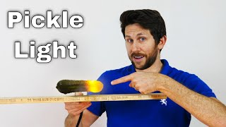 Why Pickles Make Great Light Bulbs