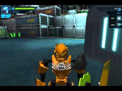 Лего Героический Фактор игра Робот-герой (Lego Hero Fsctori Breakout)
