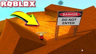 THIS Happens If You Jump Into The VOLCANO (Roblox Super Power Training Simulator)