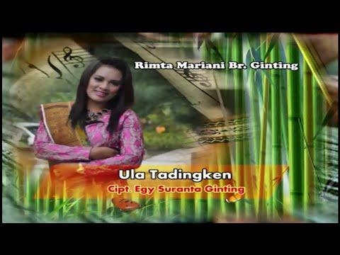 Lagu Karo Terbaru - Ula Tadingken - Rimta Mariani Br Ginting ( Lirik / Subtitles )