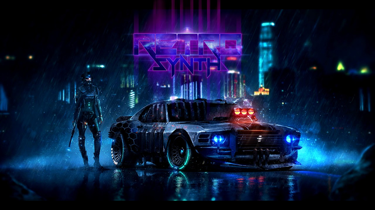 4k Wallpaper Muscle Car Holew Sorry Robot Synthwave Cyberpunk 2017 Youtube