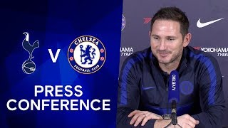 Frank Lampard on Facing Former Manager Jose Mourinho | Tottenham v Chelsea