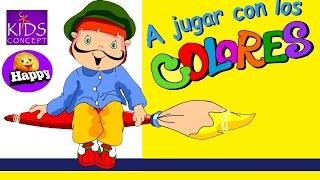 A JUGAR CON LOS COLORES - con Letra