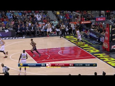 Quarter 4 One Box Video :Hawks Vs. Pacers, 3/13/2016 12:00:00 AM