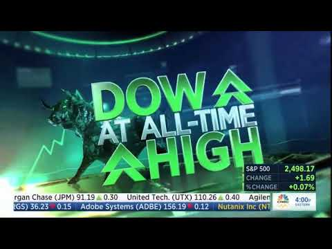 CED Rings the NASDAQ Closing Bell on CNBC--September 13, 2017