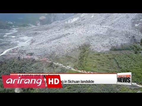 China landslide: 15 dead, 120 in Sichuan village