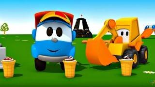 Leo Junior  - Dondurma makinesi - Eğlenceli çizgi film - Türkçe izle
