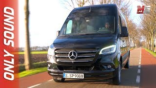 NEW MERCEDES SPRINTER TOURER 2018 - FIRST TEST DRIVE ONLY SOUND