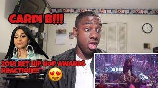 Cardi B Hip Hop Awards 2018 DOPE Performance Reaction