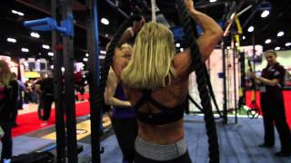Teaching Battling Ropes exercises for total body strength and power