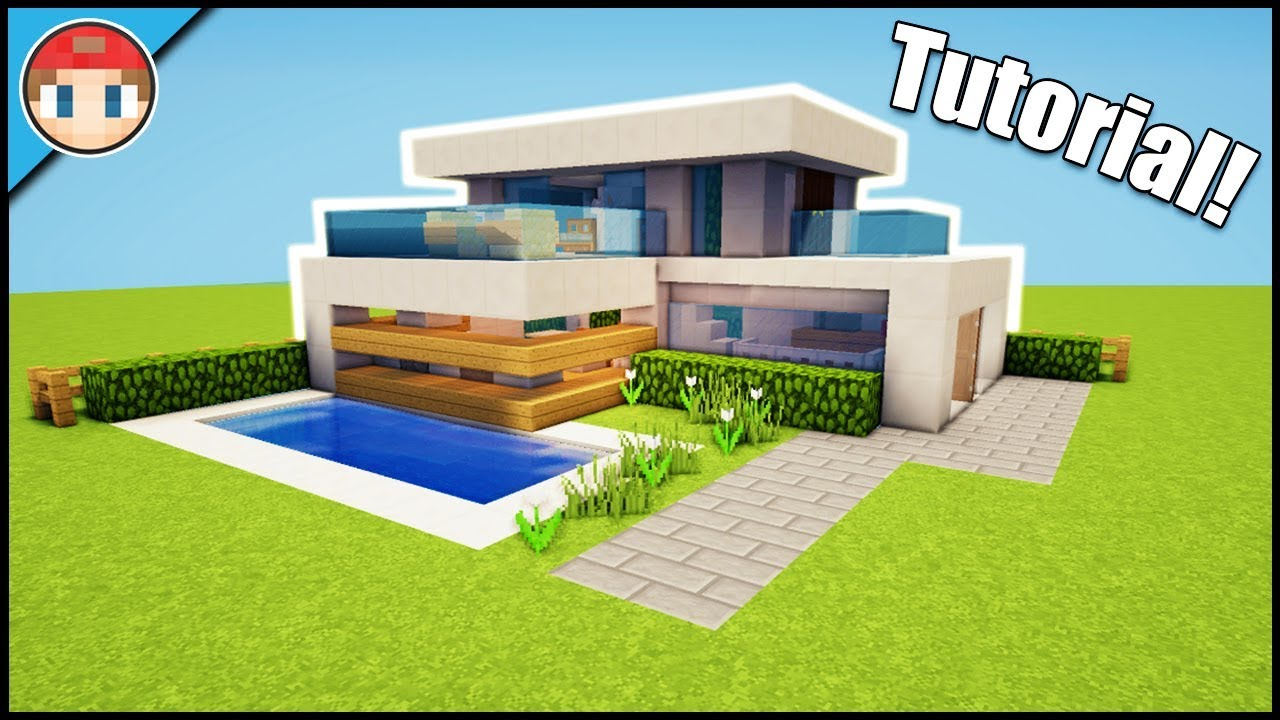 Minecraft: How to Build a Small & Simple Modern House - Easy Beginner  Tutorial!