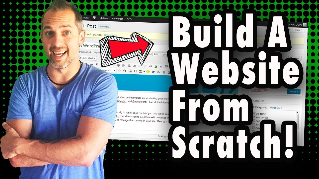 How to create a site from scratch