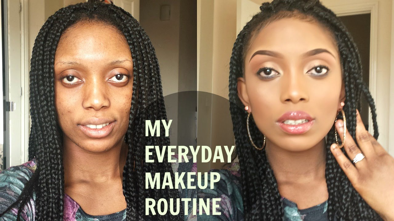 My Every Day Neutral and Simple Makeup Routine(Full Face)#BeautyCommunityUnite - YouTube