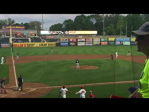 Juan Soto hits 2-run home run in second at-bat for Harrisburg Senators