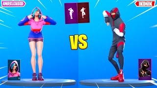 Iris vs Ikonik - Fortnite Dances & Emotes