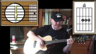 Never Let Her Slip Away - Andrew Gold - Acoustic Guitar Lesson