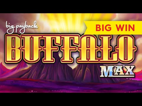 RETRIGGER FRENZY, WOW! Buffalo Max Slot - BIG WIN BONUS! - 동영상