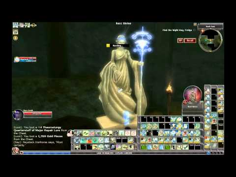 Dungeons & Dragons Online (DDO) The Riddle aka Dank cave HD