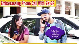 Phone Call With EX-GF Prank on Cute Girls || Prashant Shukla || NSB