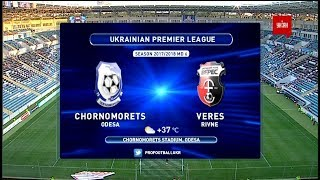 Chernomorets O. vs Veres full match