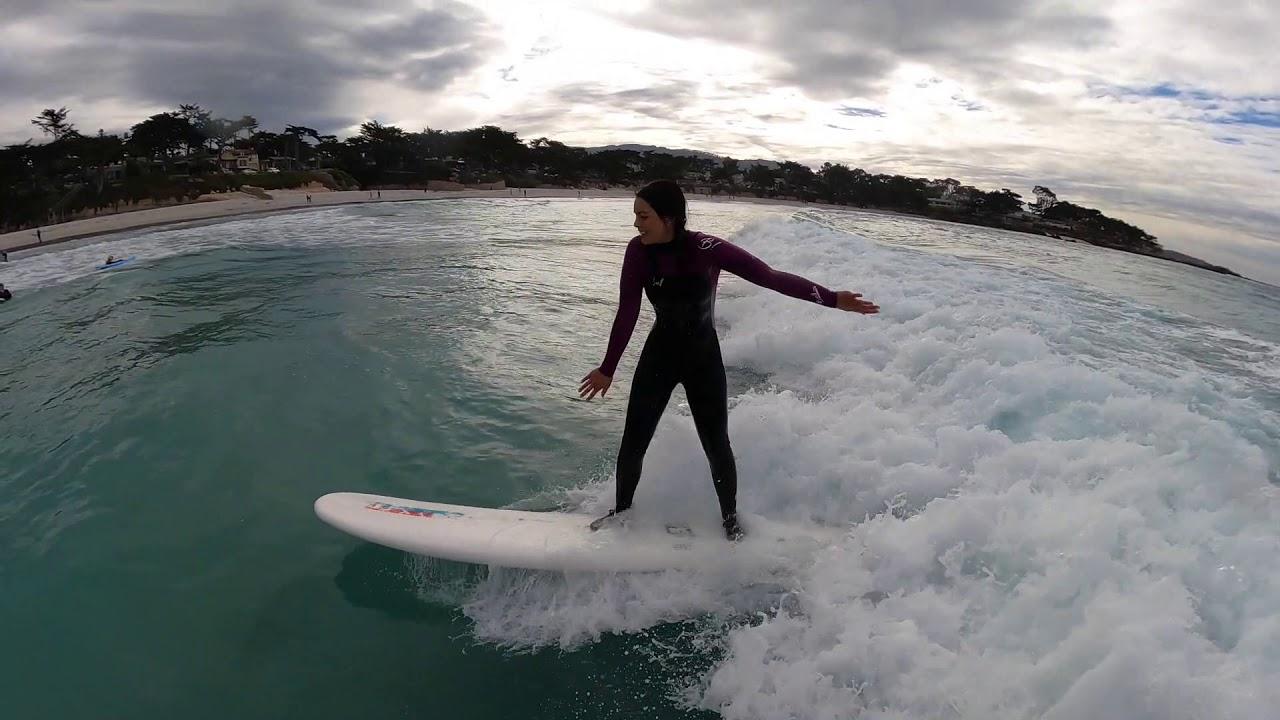 E's Vlog. A Christmas Morning Surf 2020