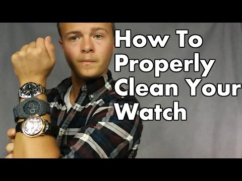 How To Properly Clean Your Watch Face & Bands, Leather, Steel, & Rubber Nylon
