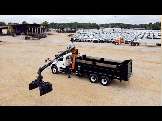 Ledwell Dump Truck + Rotobec Grapple