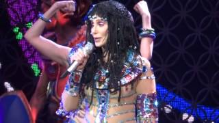 Cher- Strong Enough, Dressed to Kill Tour, Key Arena, Seattle, WA, June 28, 2014