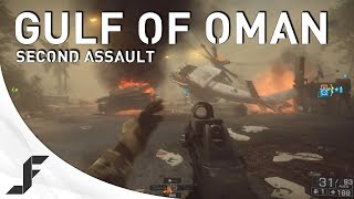 Battlefield 4: XBOX ONE Gulf Of Oman Second Assault gameplay - Sandstorm, F2000 and AS VAL